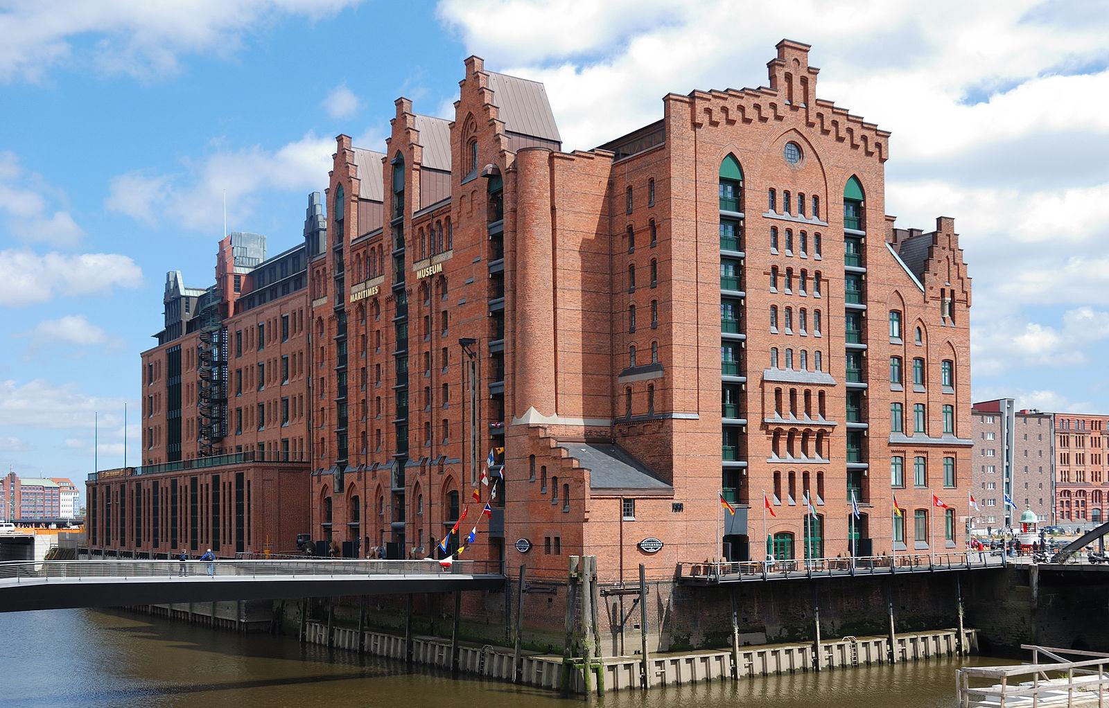 Das Internationale Maritime Museum Hamburg, Foto, wiki , Mbdortmund